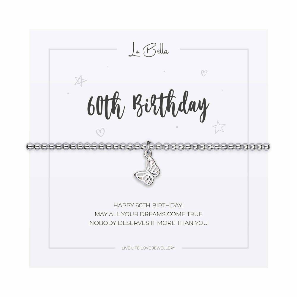 Happy 60th Birthday Charm Bracelet
