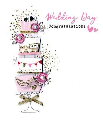 Wedding Day Congratulations - Card