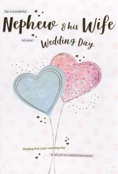 Nephew & Wife On Your Wedding Day