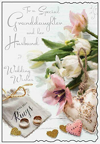 Granddaughter & Husband On Your Wedding Day