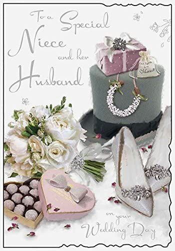 To A Special Niece And Her Husband On Your Wedding Day - Card