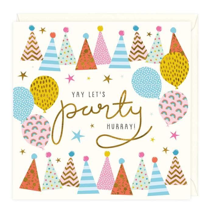 Yay Let's Party Celebration - Card