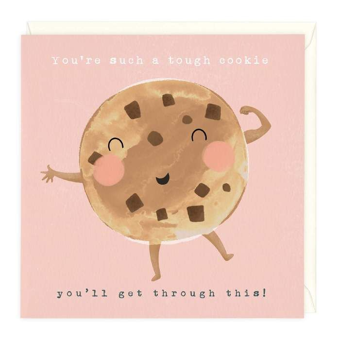 You're Such A Tough Cookie - Card