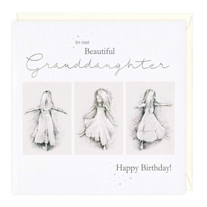 To Our Beautiful Granddaughter Happy Birthday! - Card