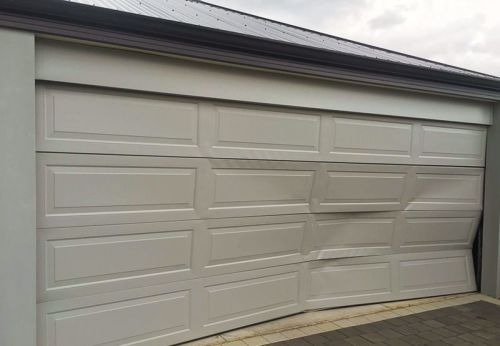 Garage Door Panel Damage Repairs Perth and Mandurah