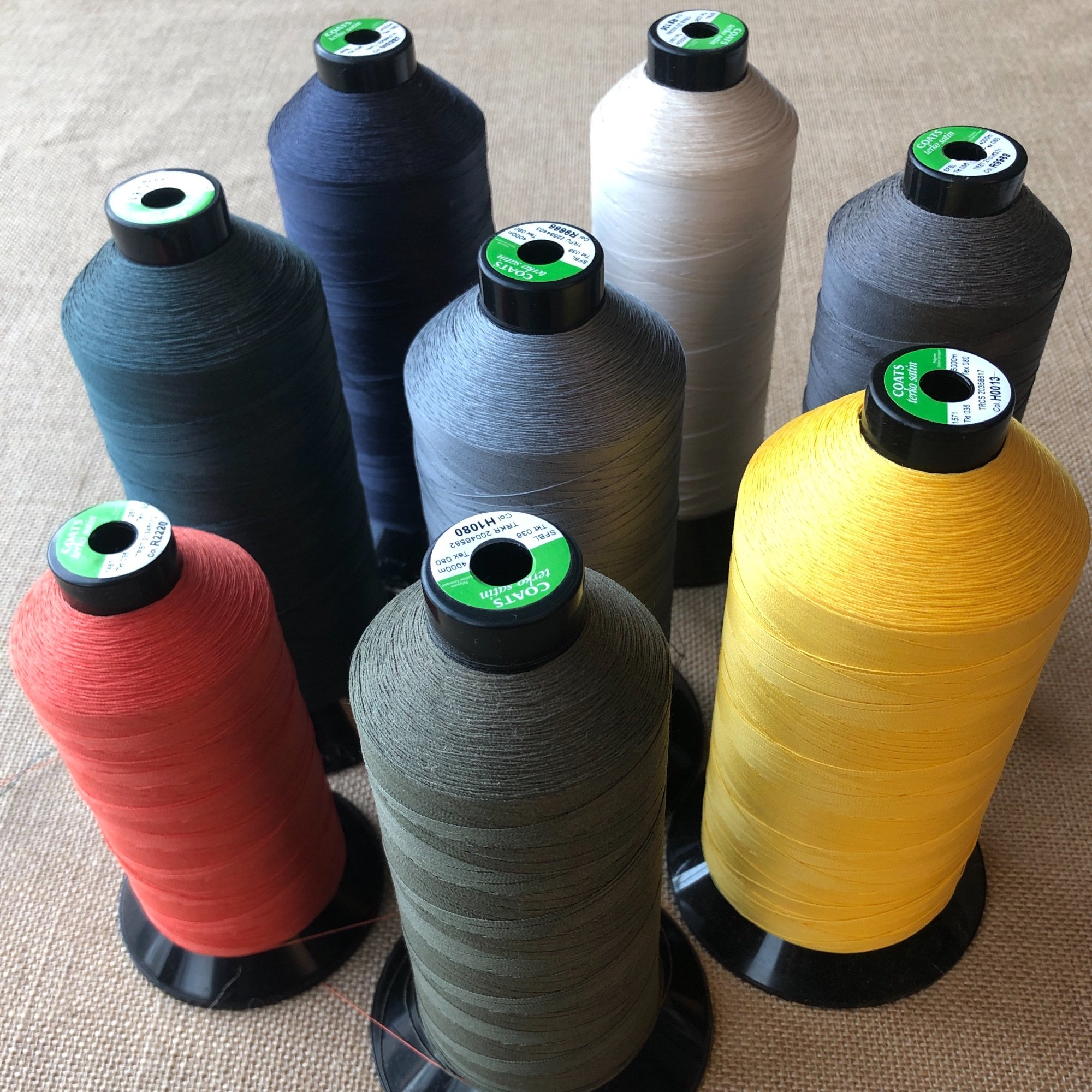 sewing machine threads in a range of colours Spring Upholstery Brighton