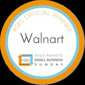 Walnart Small Business Sunday Winners Badge