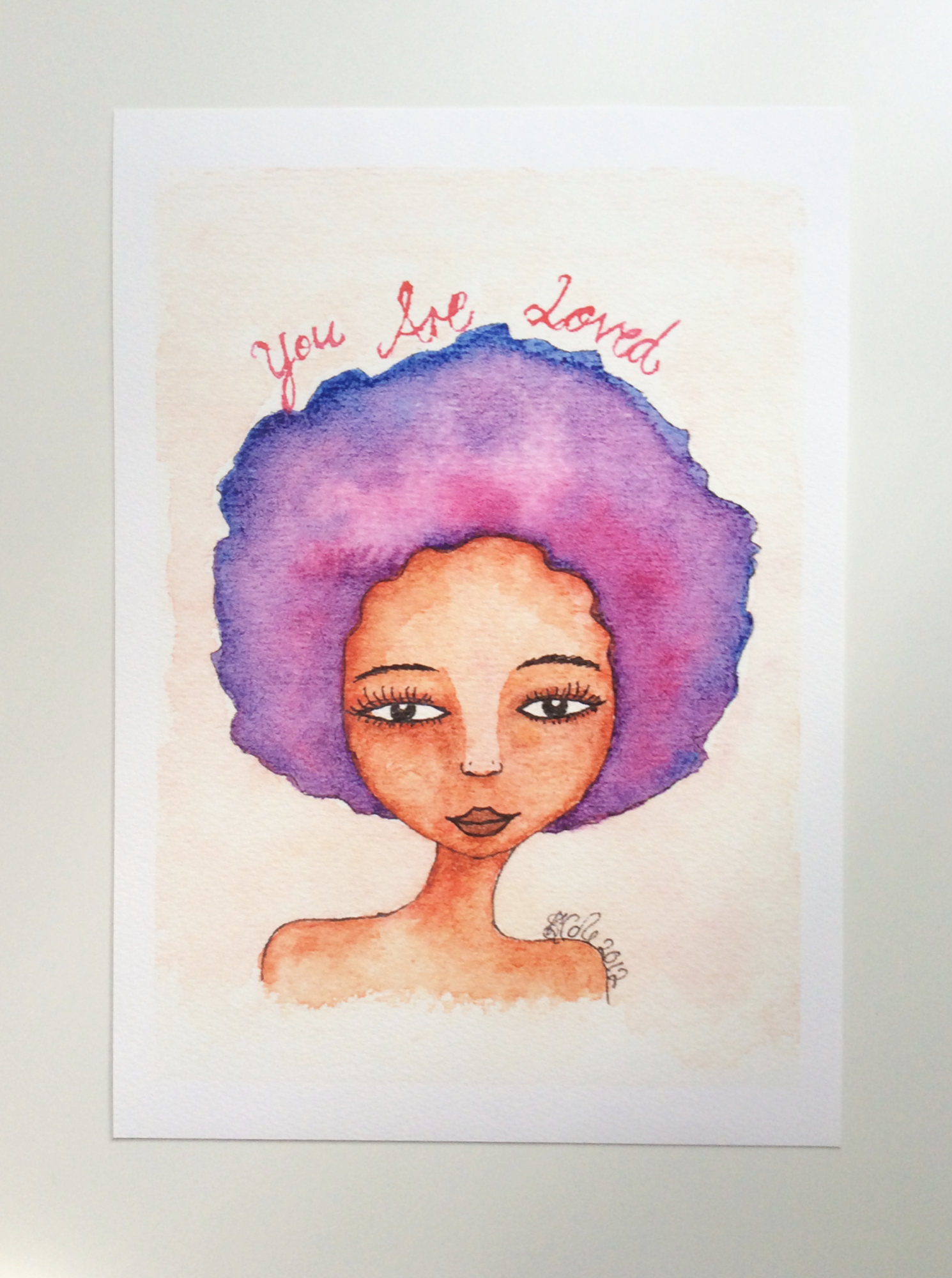 You Are Loved Artwork Print