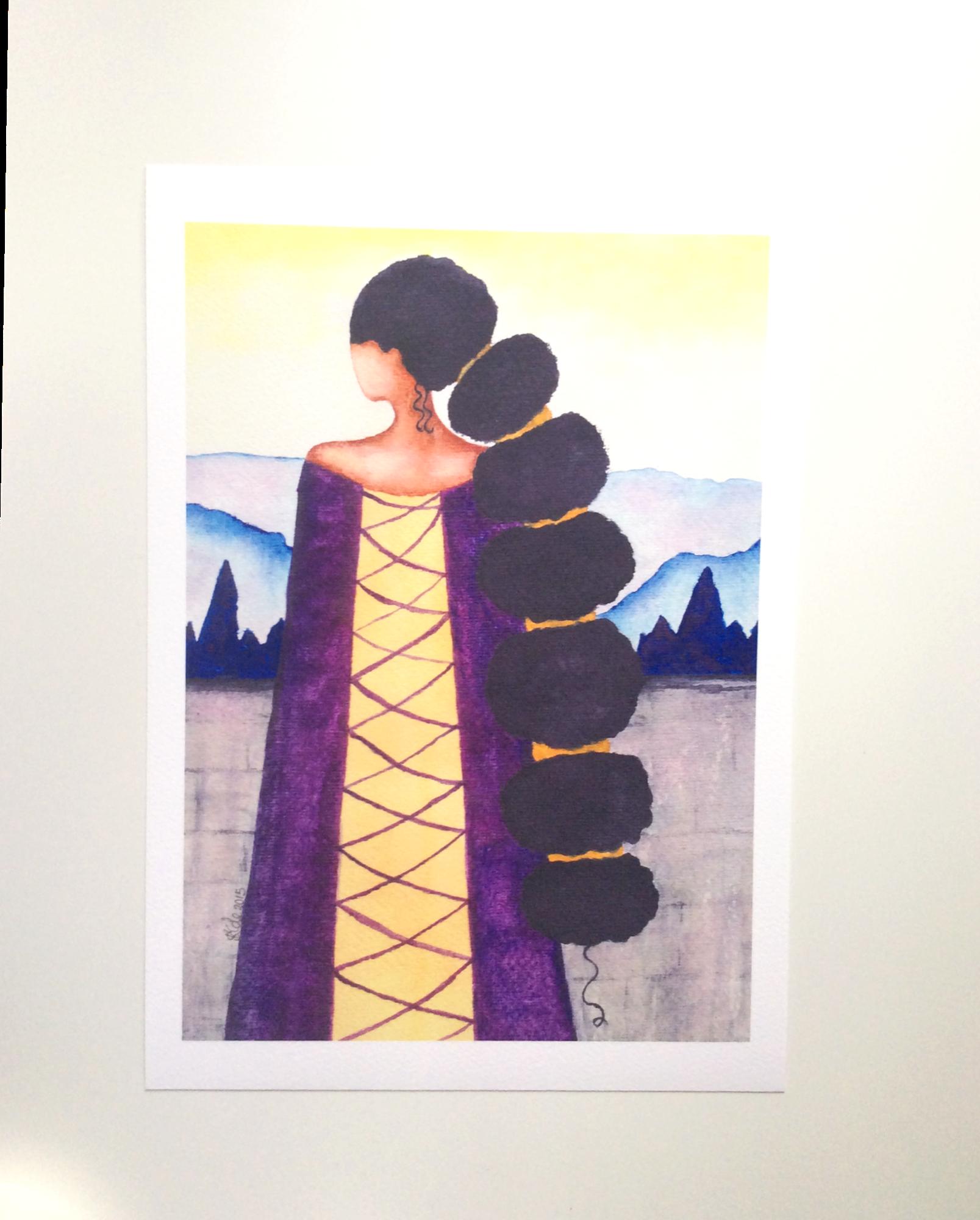Queen Artwork Print