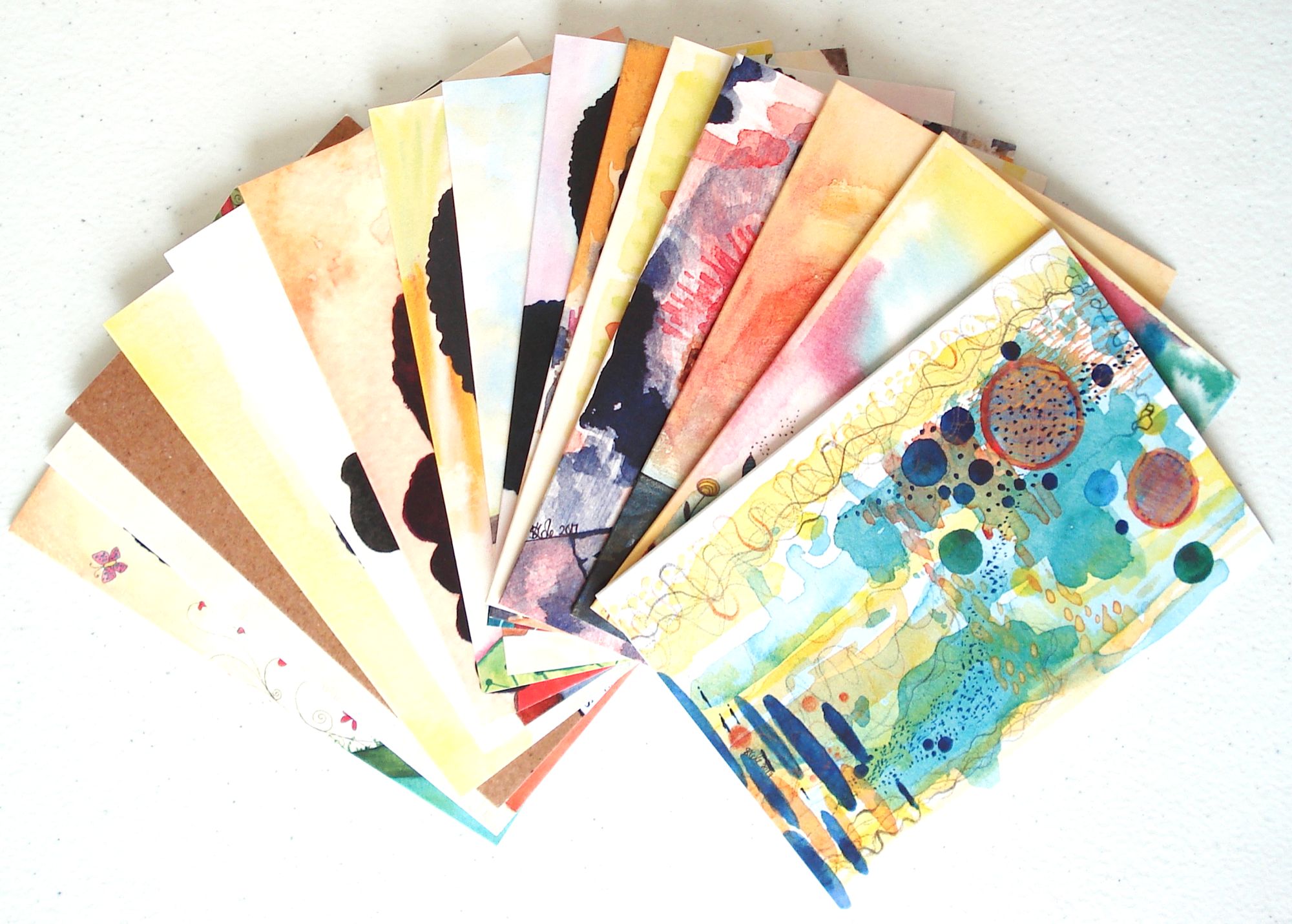 Mix & Match Set of 15 Art Cards