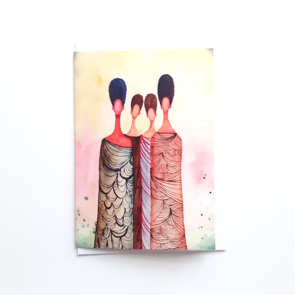 Black Greeting Card 'Wise Women' | Sisters | Friends | Ancestors