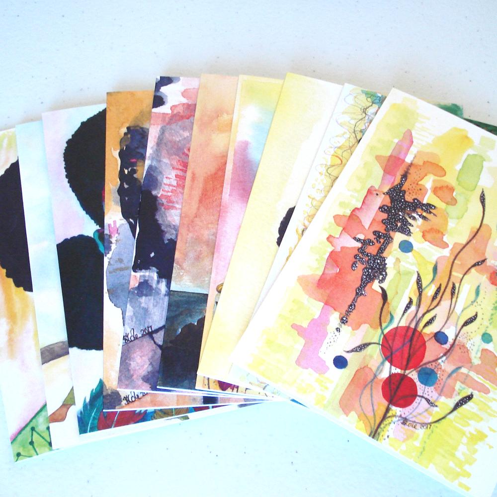 10 MIX & MATCH Greeting Cards