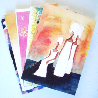 5 MIX & MATCH Greeting Cards
