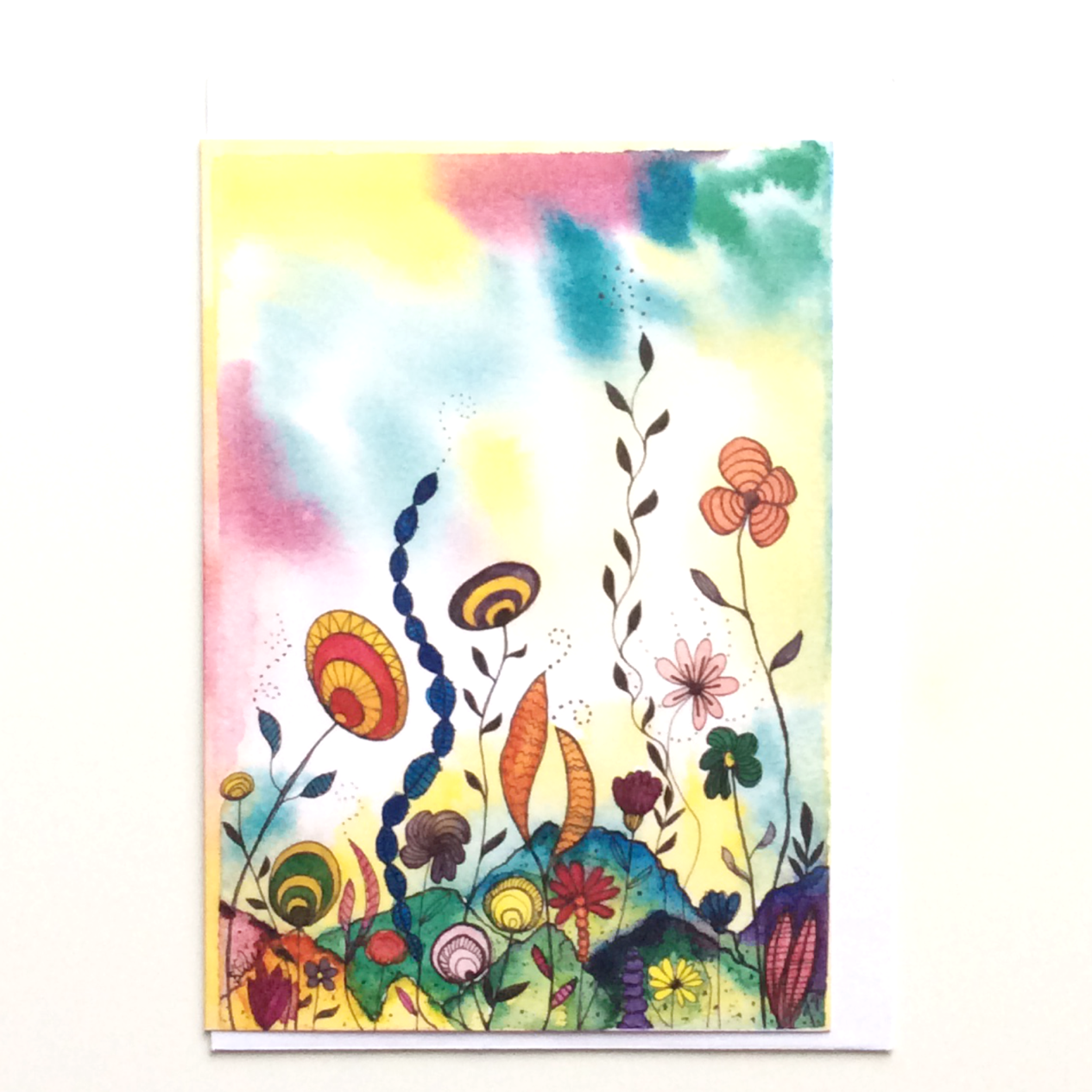 Sub-Aquatic 2 Greeting Card by Stacey-Ann Cole