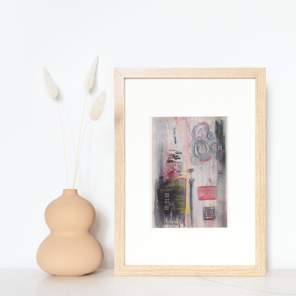 Abstract Wall Art and Home Decor | Artwork | Original Mixed Media Abstract