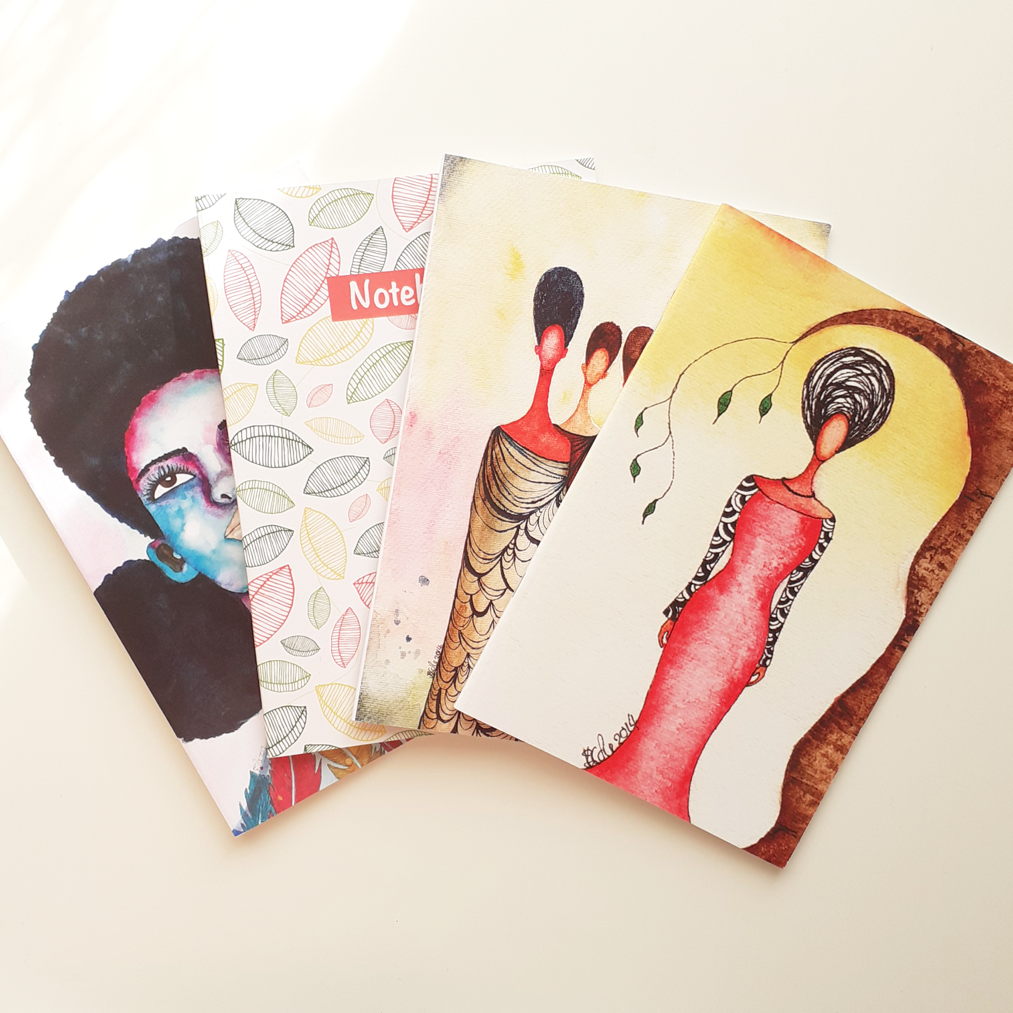 Notebooks by Artist Stacey-Ann Cole