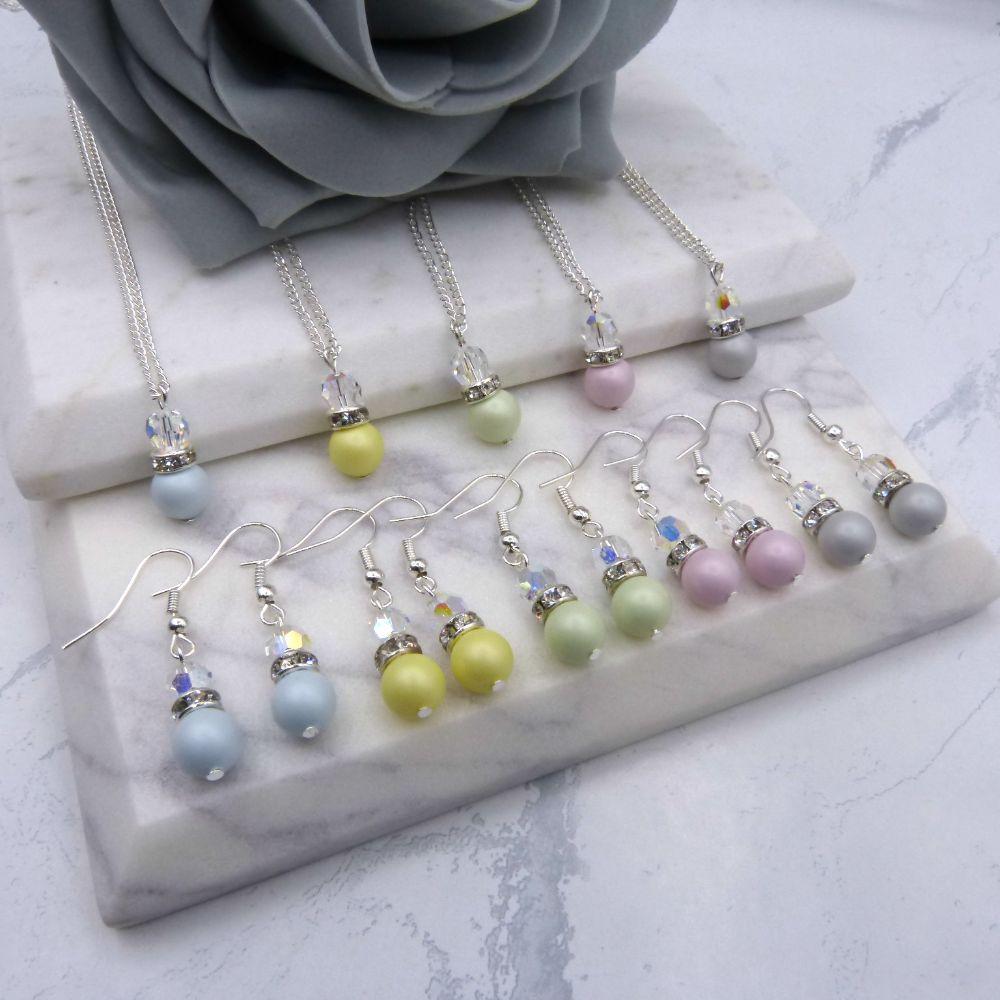 <!-- 004 --> Bridesmaid Jewellery Sets