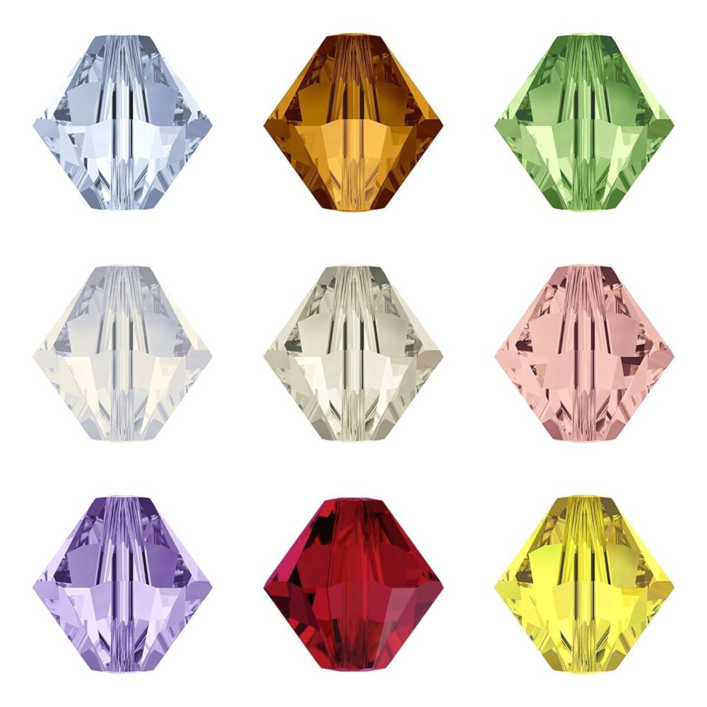 <!-- 001 --> Bicone Crystals