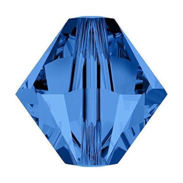 Blue Bicone Crystal Colours