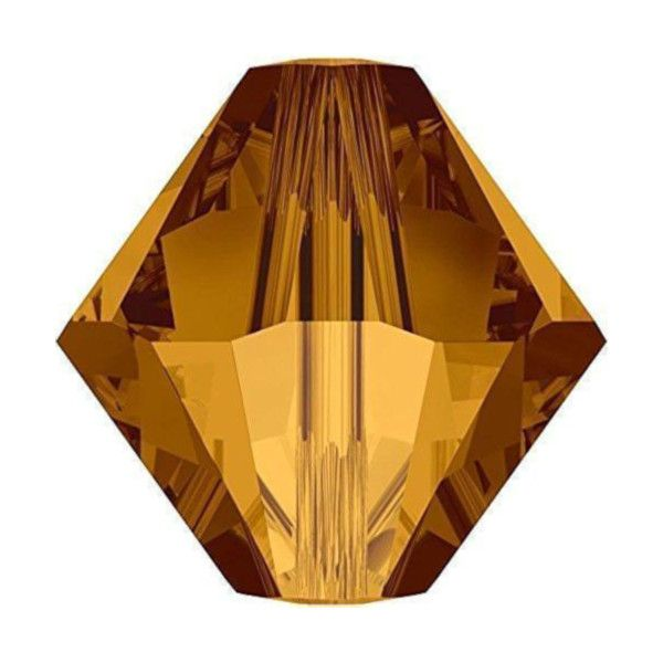 Brown Bicone Crystal Colours