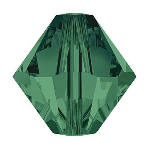 Green Bicone Crystal Colours