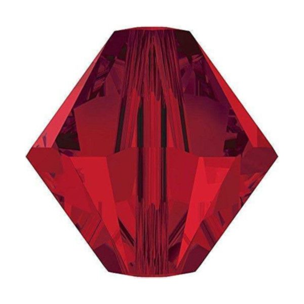 Red Bicone Crystal Colours