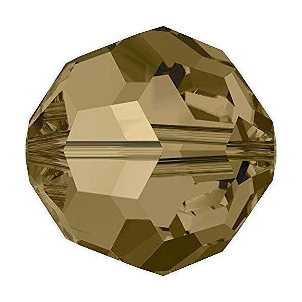 Brown Round Crystal Colours