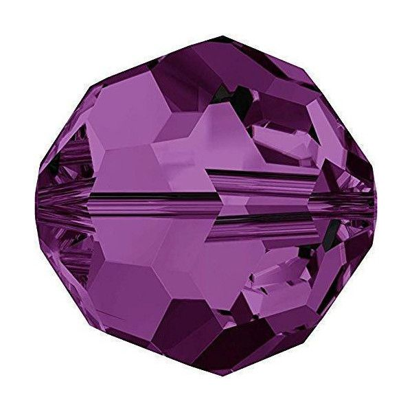 Purple Round Crystal Colours