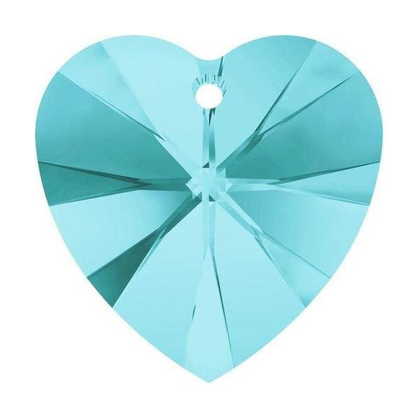 Blue Crystal Heart Colours