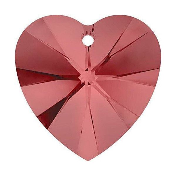 Pink Heart Crystal Colours