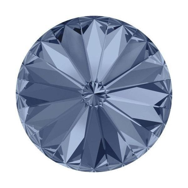 Blue Rivoli Crystal Colours