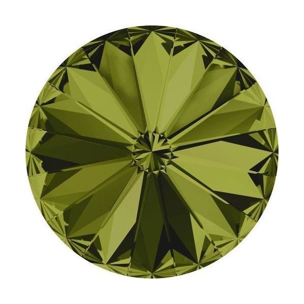 Green Rivoli Crystal Colours