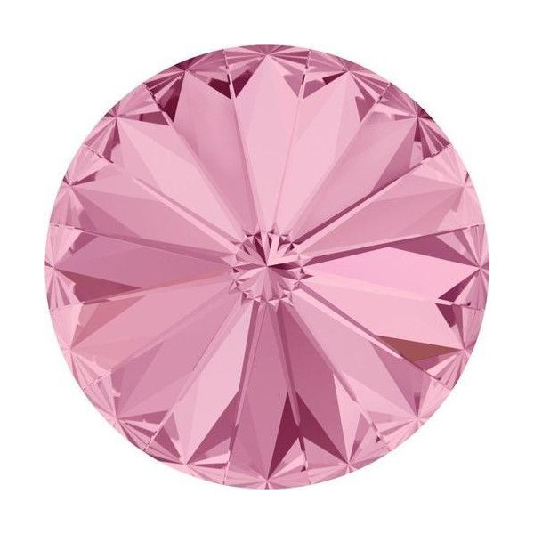 Pink Rivoli Crystals