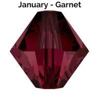 JANUARY BIRTHSTONE - Swarovski Crystal