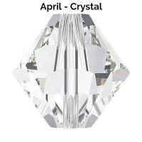 APRIL BIRTHSTONE - Swarovski Crystal