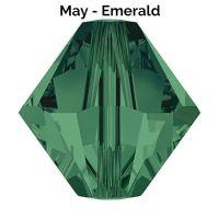 MAY BIRTHSTONE - Swarovski Crystal