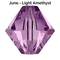 JUNE BIRTHSTONE - Swarovski Crystal