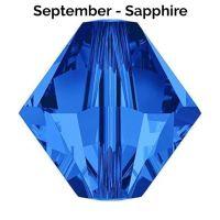 SEPTEMBER BIRTHSTONE - Swarovski Crystal