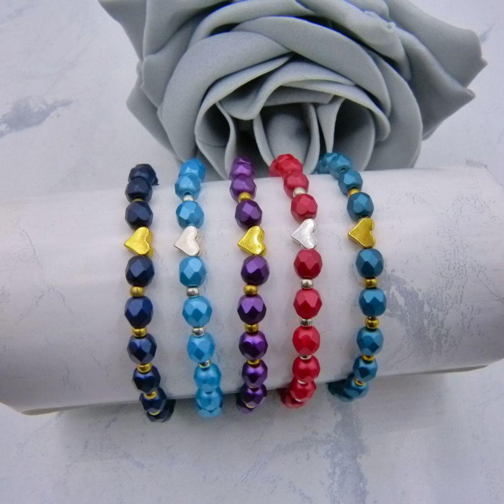 Helen Stretch Bracelet (More Colours)