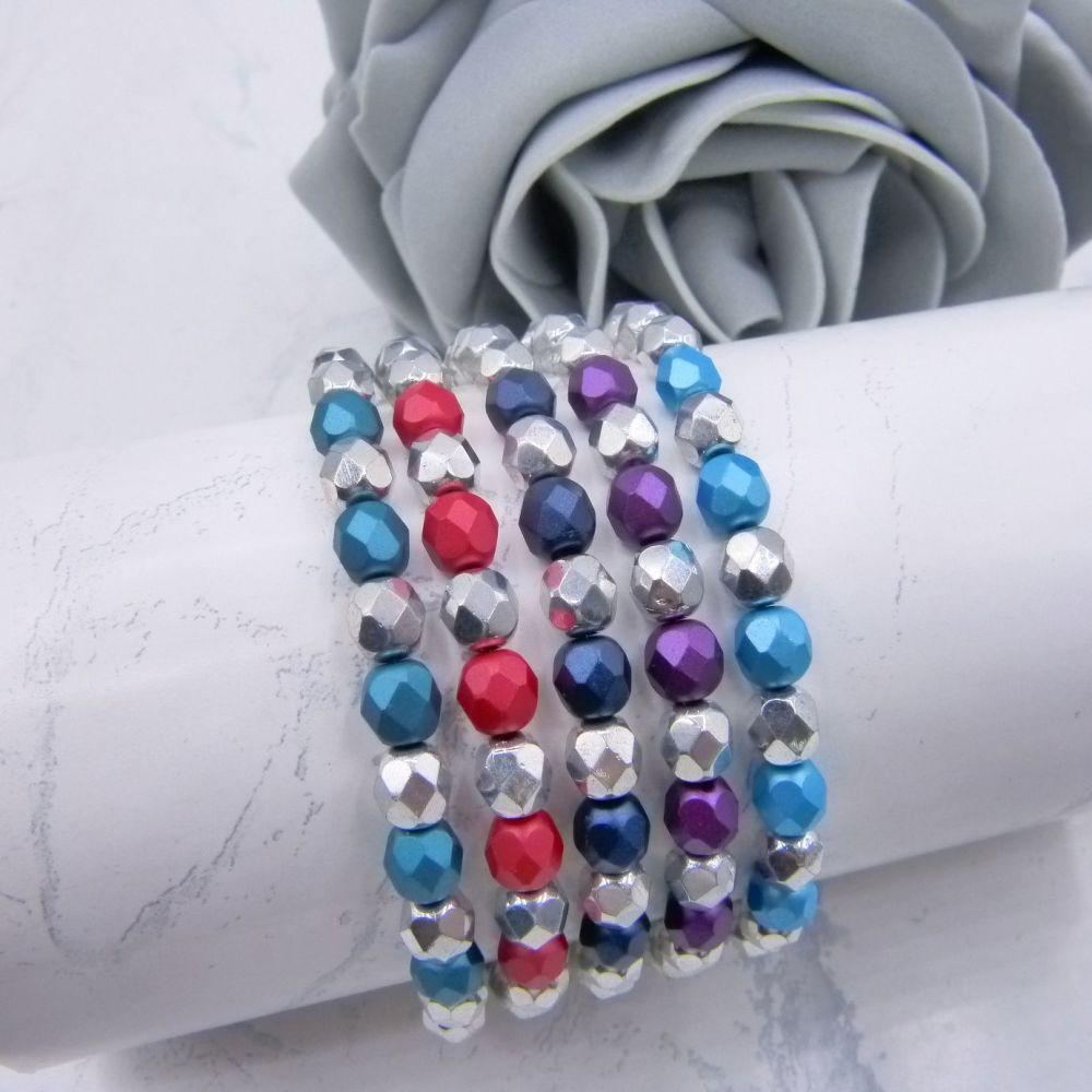 Bernice Stretch Bracelet (More Colours)