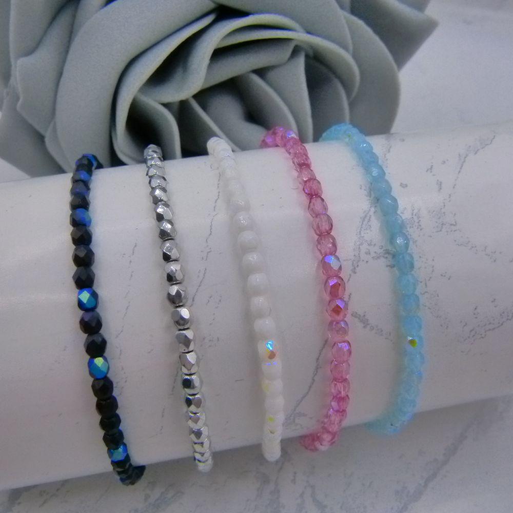 <!-- 004 --> Stacked Bracelet Sets