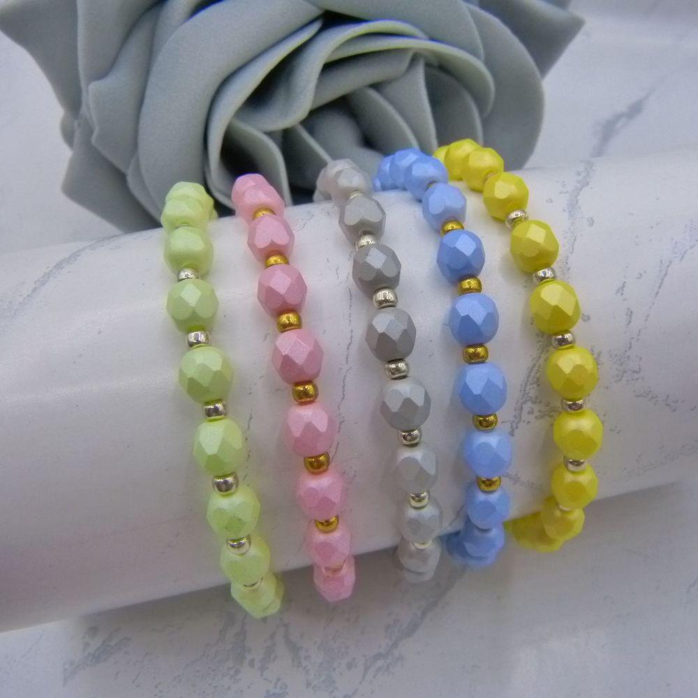 Emily Stretch Bracelets (More Colours)