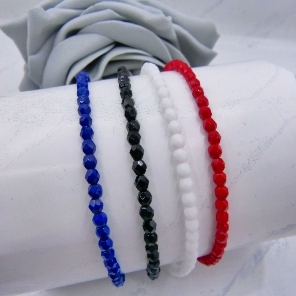 Opaque Colour Anklet