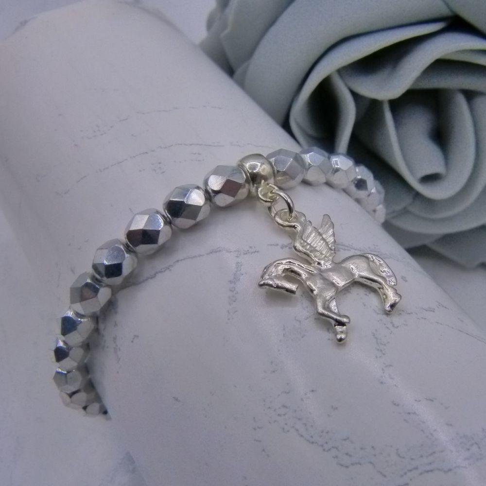 Pegasus Charm Bracelet