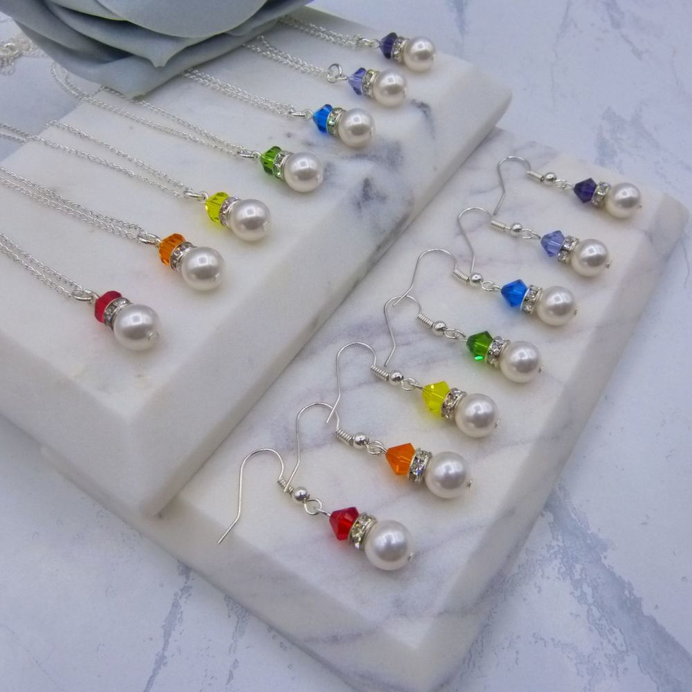 7 Rainbow Jewellery Sets
