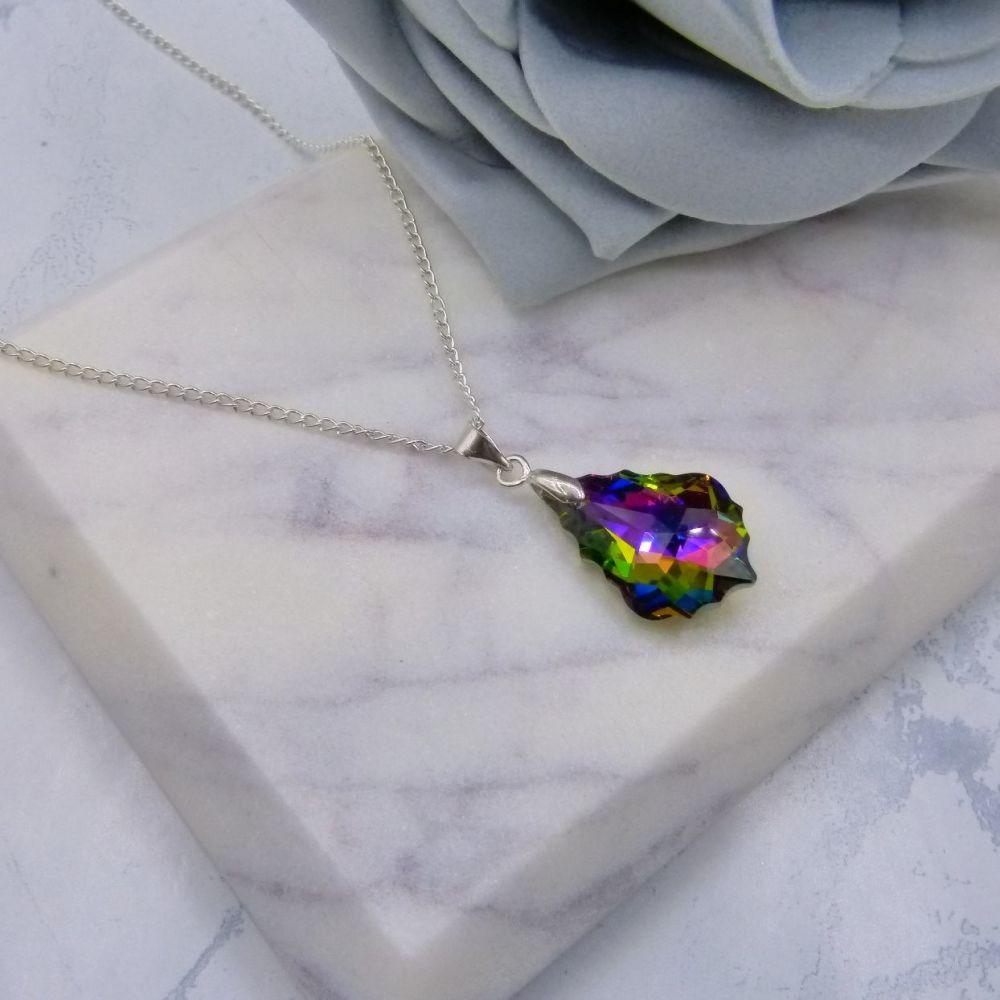 Crystal Rainbow Pendant