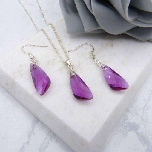 Fuchsia Jewellery Set