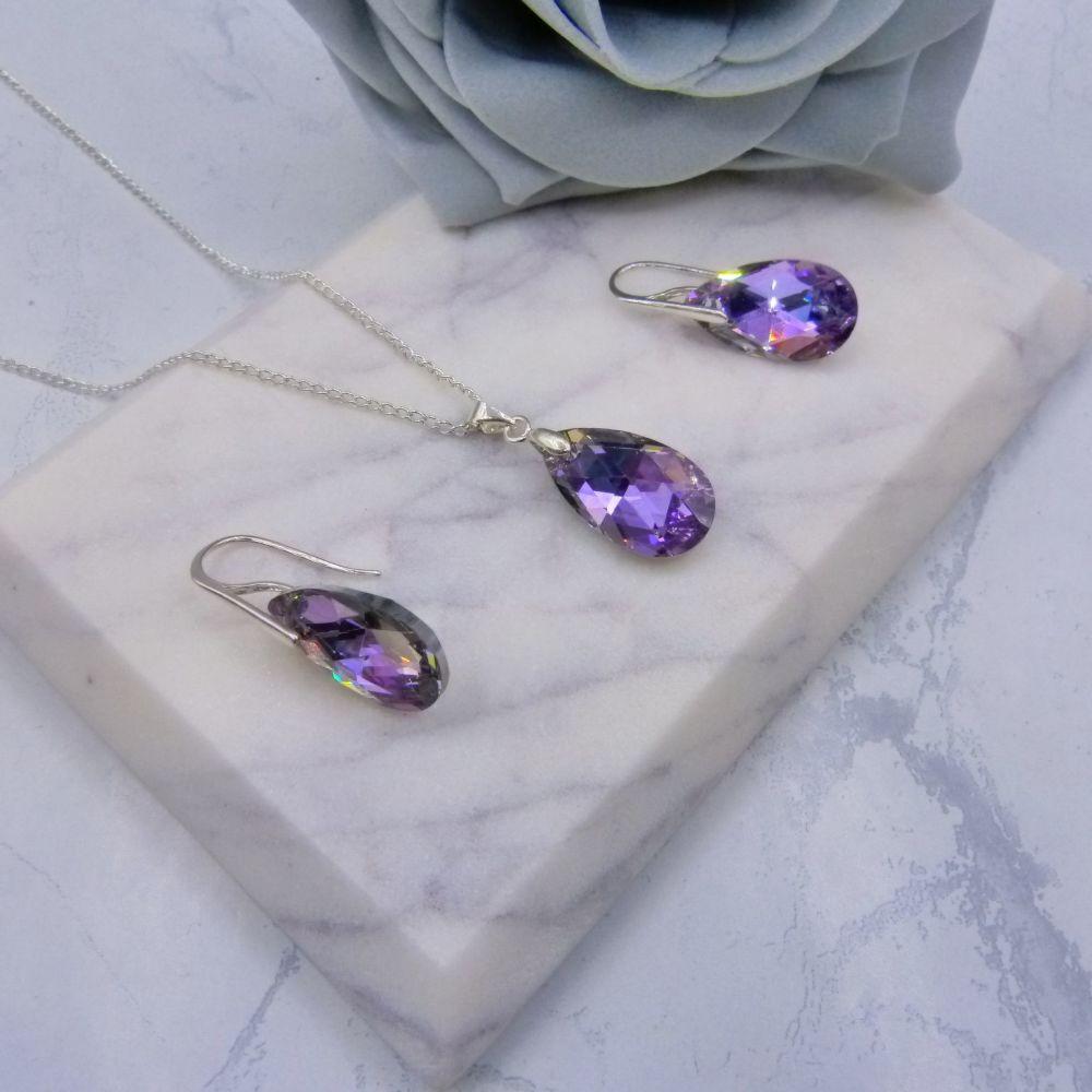 Lilac AB Jewellery Set