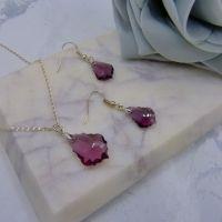 Amethyst Jewellery Set