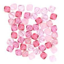 Pink Crystal & Pearl Jewellery